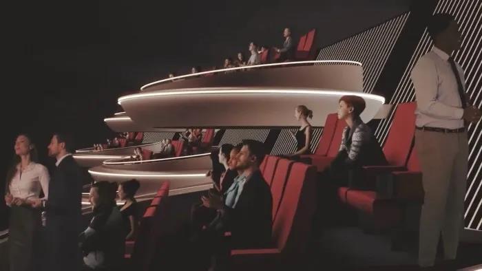 影院设计鉴赏,酷似《星战》银河